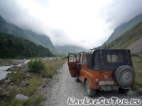 way to camp Bezengi