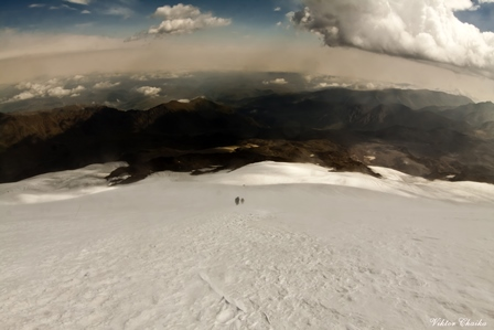 Groups on Elbrus - north Elbrus
