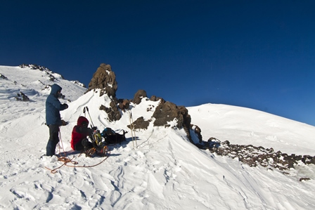Lenz rocks north Elbrus