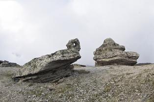 Stone mushroom s- north Elbrus