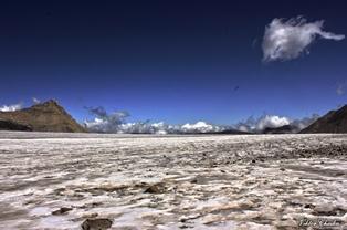 way to north Elbrus