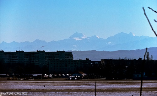 Mount Kazbek from Nalchik