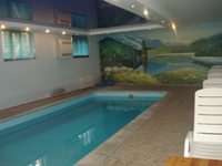 Hotel Gala Alpik::indoor pool